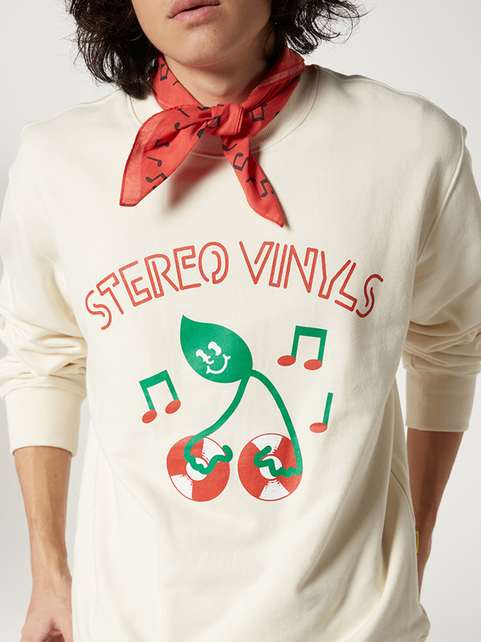 [FW20 SV X Sandomi Studio] Dj greend Bandana(Red) STEREO-SHOP