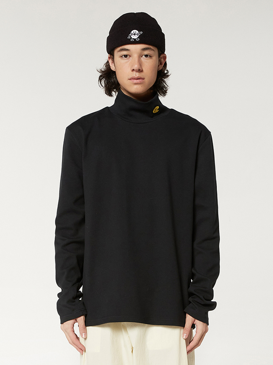 [FW20 SV X Sandomi Studio] Hucle Long Sleeve(Black) STEREO-SHOP