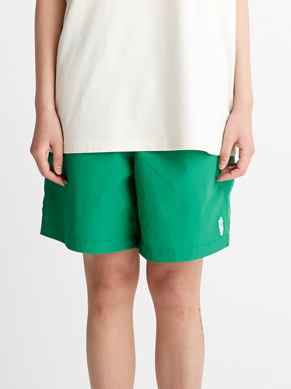 [SS20 SV X Carrots] Carrots Logo Short Pants(Green) STEREO-SHOP