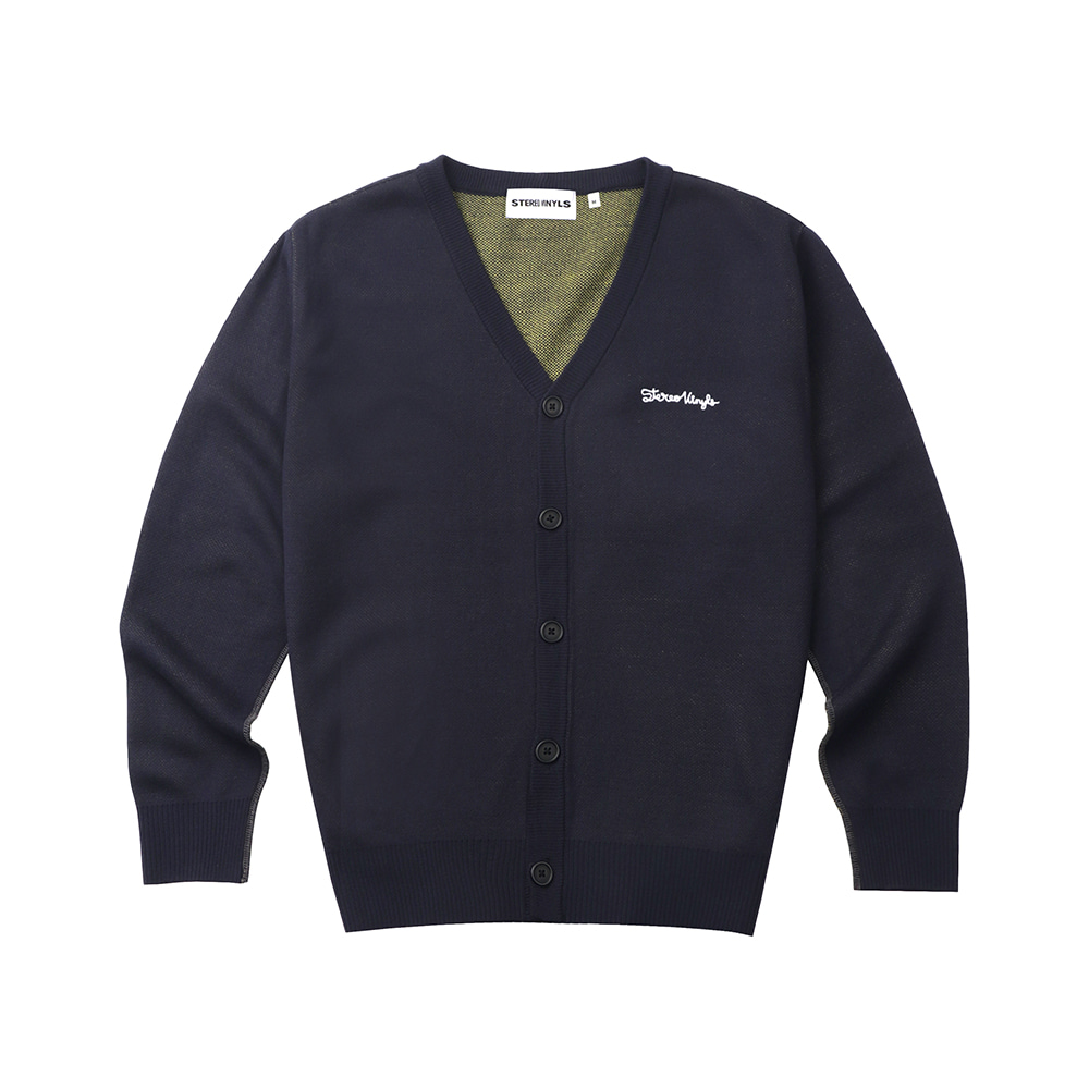 [FW20 SV X Sandomi Studio] Hucle Cardigan(Navy) STEREO-SHOP