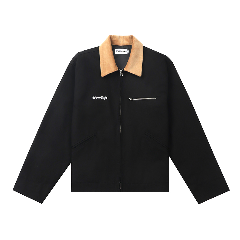 [FW20 SV X Sandomi Studio] Hucle Work Jacket(Black) STEREO-SHOP