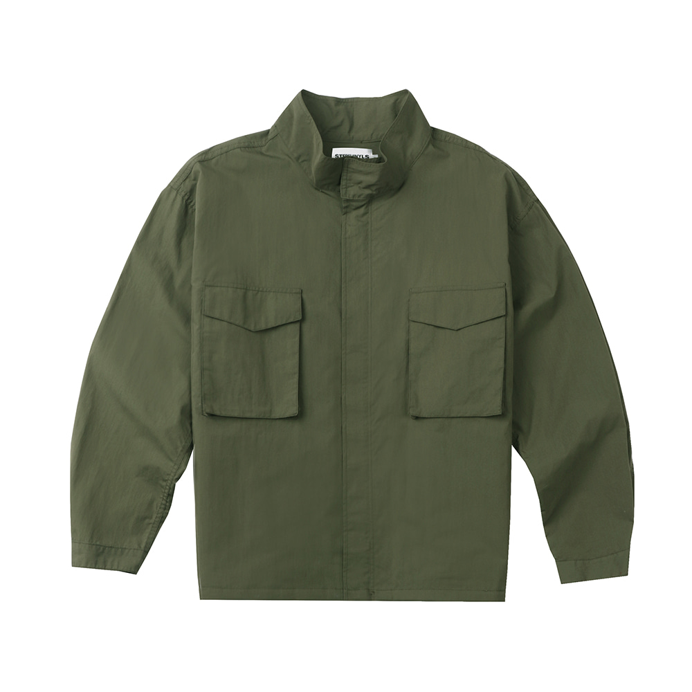 [FW20 SV X Sandomi Studio] Bowow Field Jacket(Khaki) STEREO-SHOP