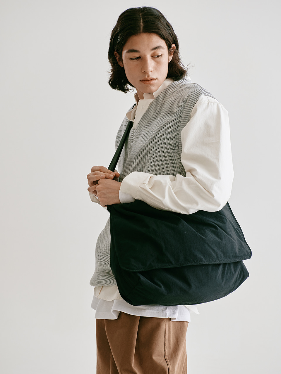 [FW20 Sounds Life] Flow Messenger Bag(Navy) STEREO-SHOP