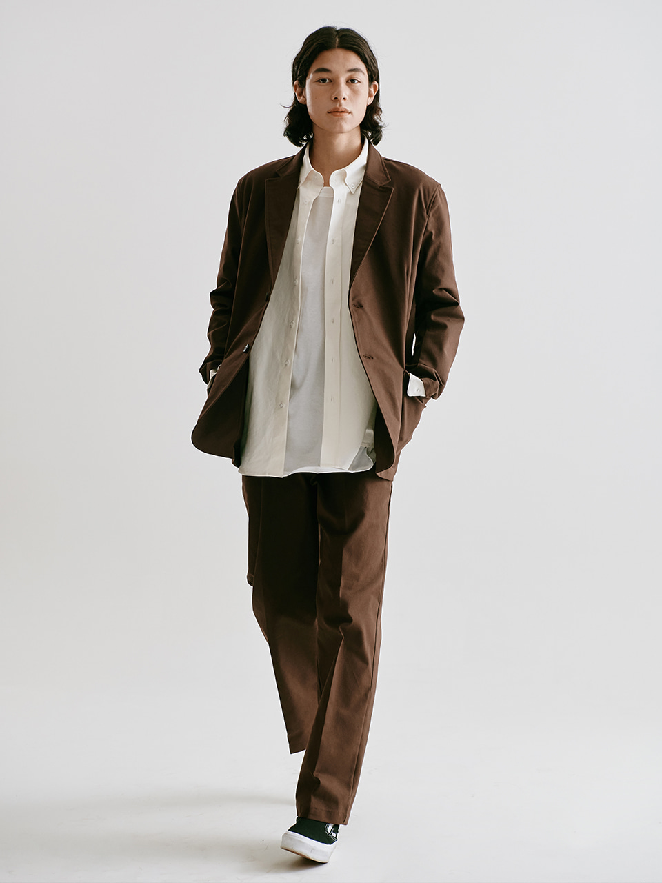 [FW20 Sounds Life] Oxford Club Jacket(Brown) STEREO-SHOP