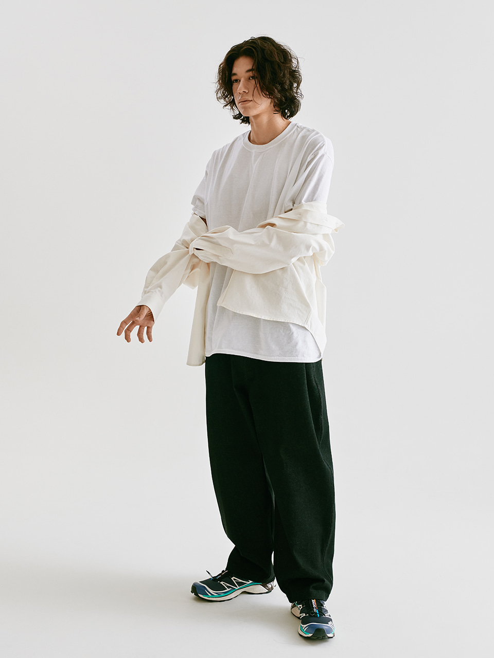 [FW20 Sounds Life] Balloon Snap Pants(Black) STEREO-SHOP