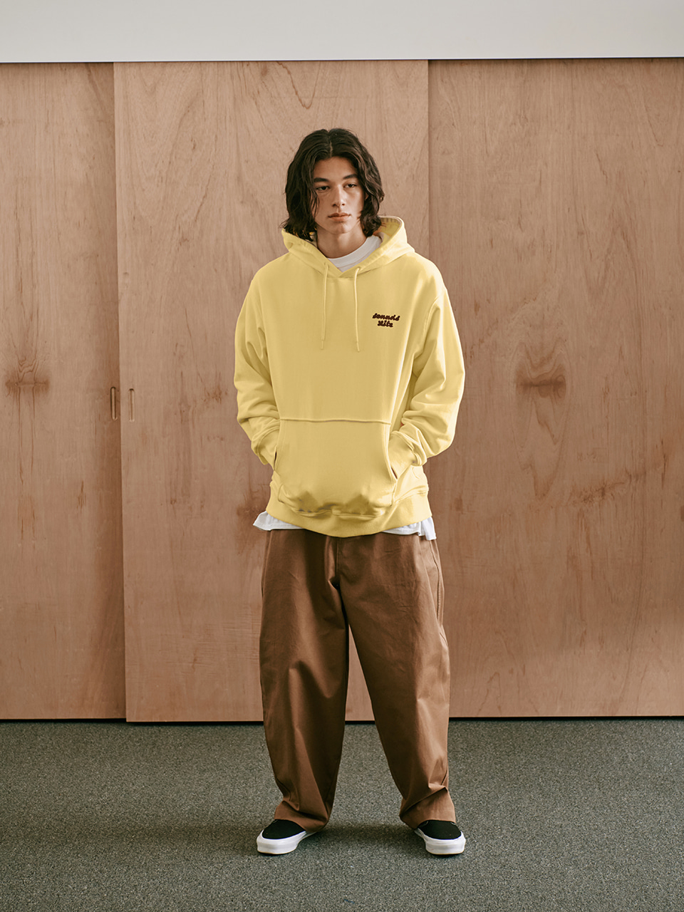 [FW20 Sounds Life] Balloon Snap Pants(Beige) STEREO-SHOP