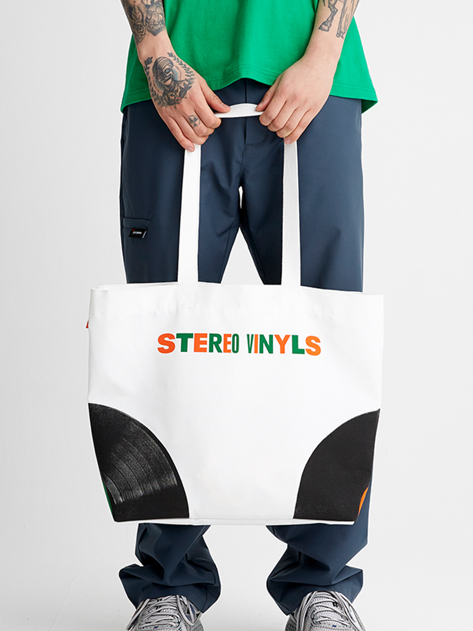 [SS20 SV X Carrots] Carrots Shoulder Bag(White) STEREO-SHOP