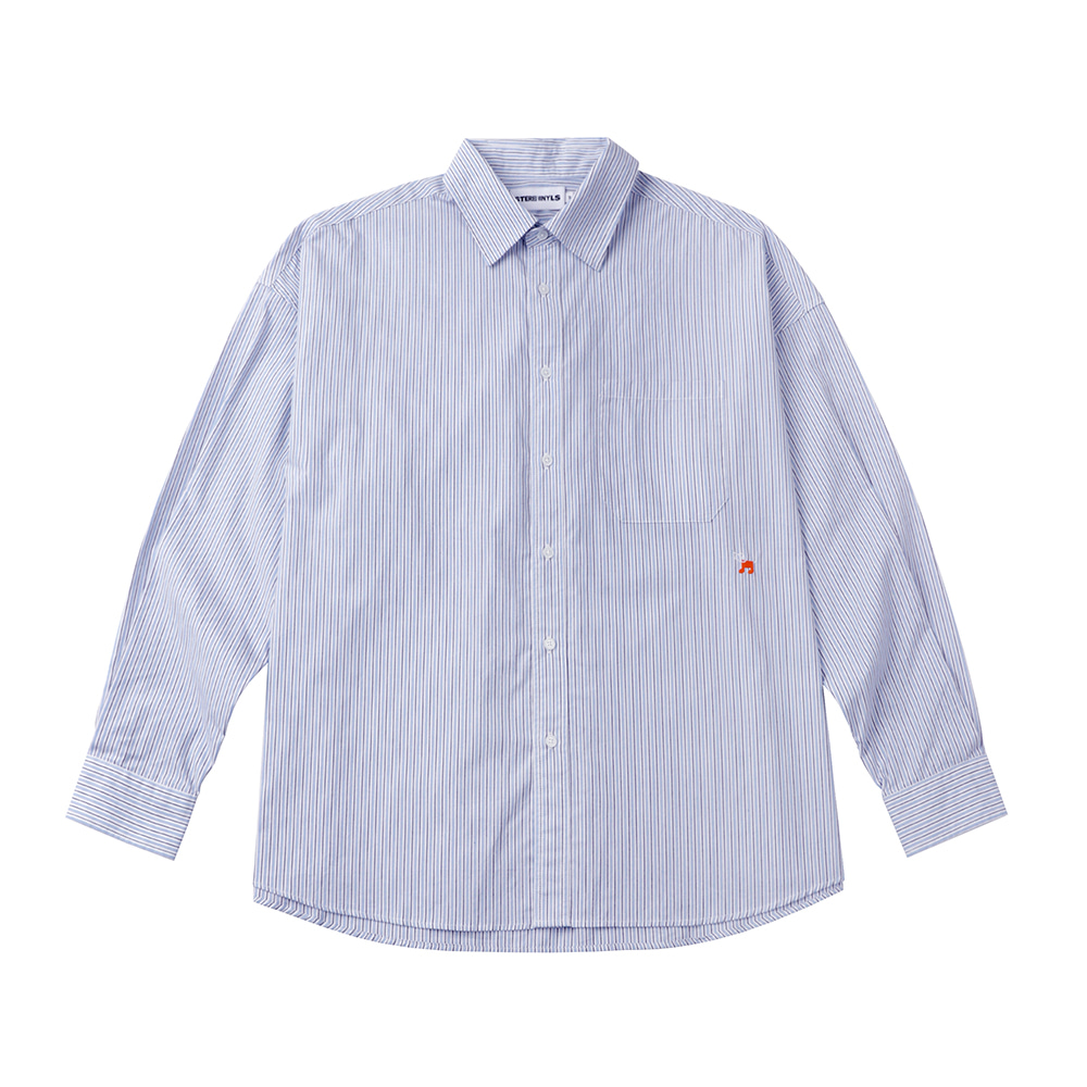 [FW20 SV X Sandomi Studio] Bowow Shirts(Sky Blue) STEREO-SHOP